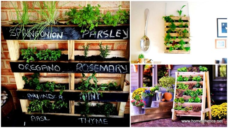 ideas jardines verticales
