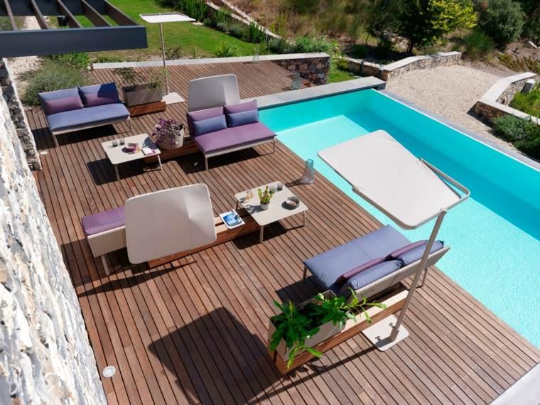 keywest muebles jardin piscina diseno ideas