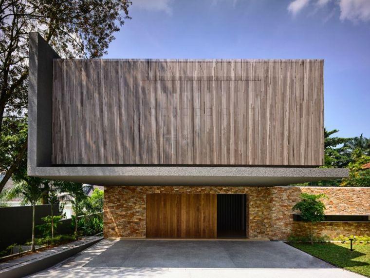 la casa privada disenada singapor entrada ideas