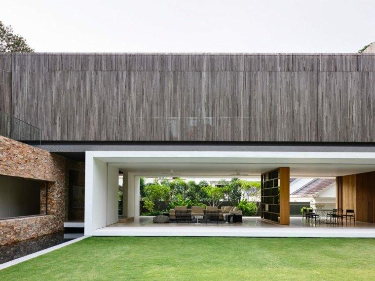 la casa privada diseno singapor interior abierto ideas