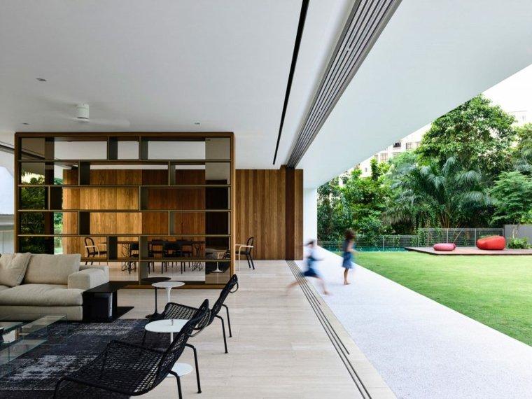la casa privada singapor jardin cocina salon comedor ideas