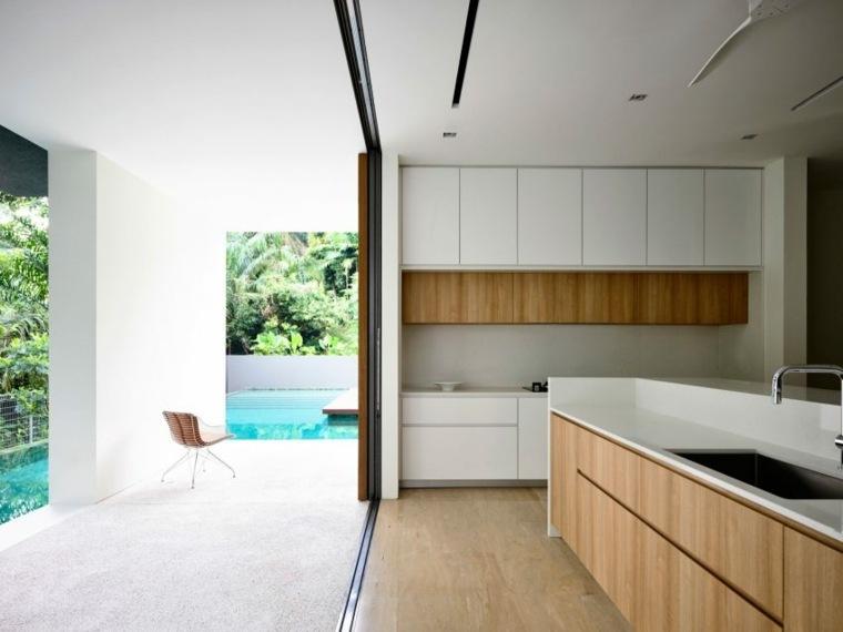 la casa privada singapor jardin cocina ideas