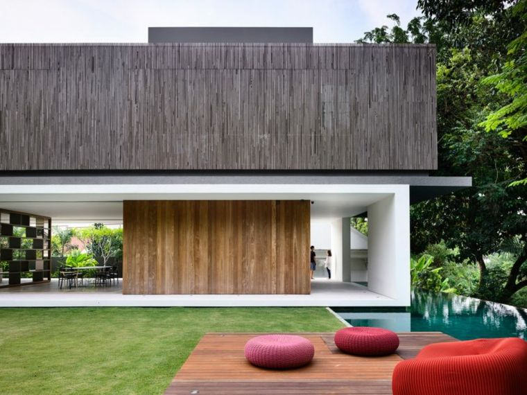 la casa privada singapor jardin muebles ideas