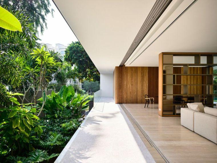 la casa privada singapor jardin plantas ideas