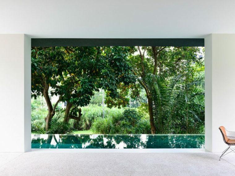 la casa privada singapor plantas cocina ideas
