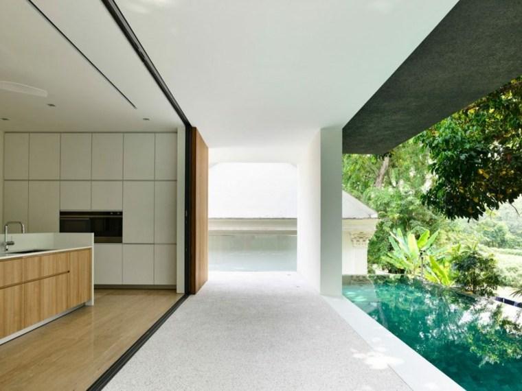 la casa privada singapur piscina diseno ideas