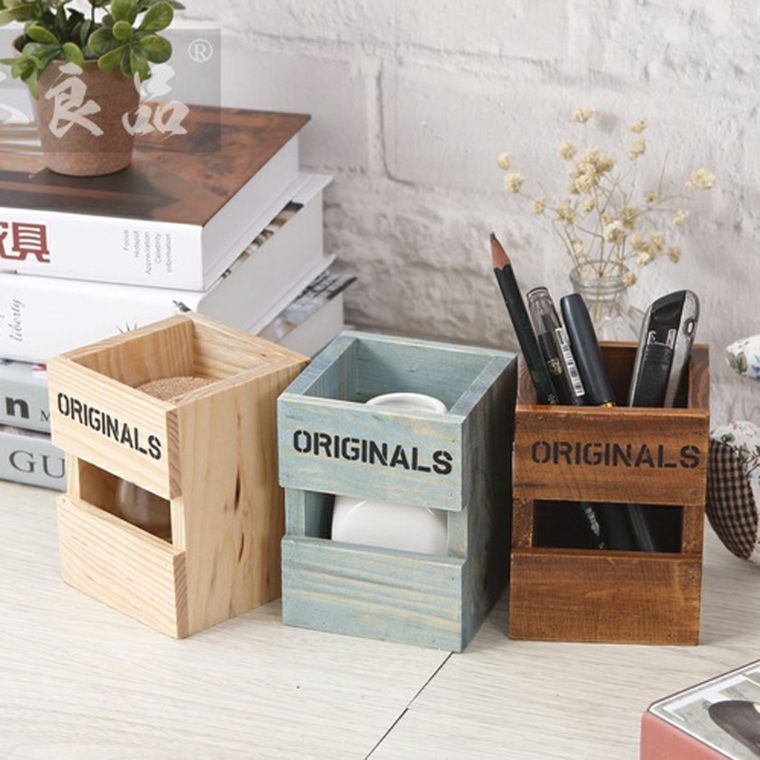 lapiceras personalizadas caseras madera