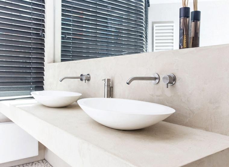 lavabos ovalados