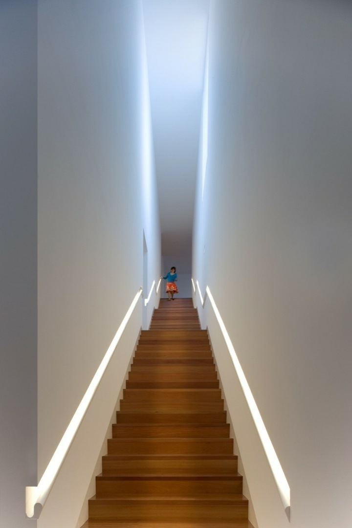 led iluminacion efecto conceptos muebles estrechas