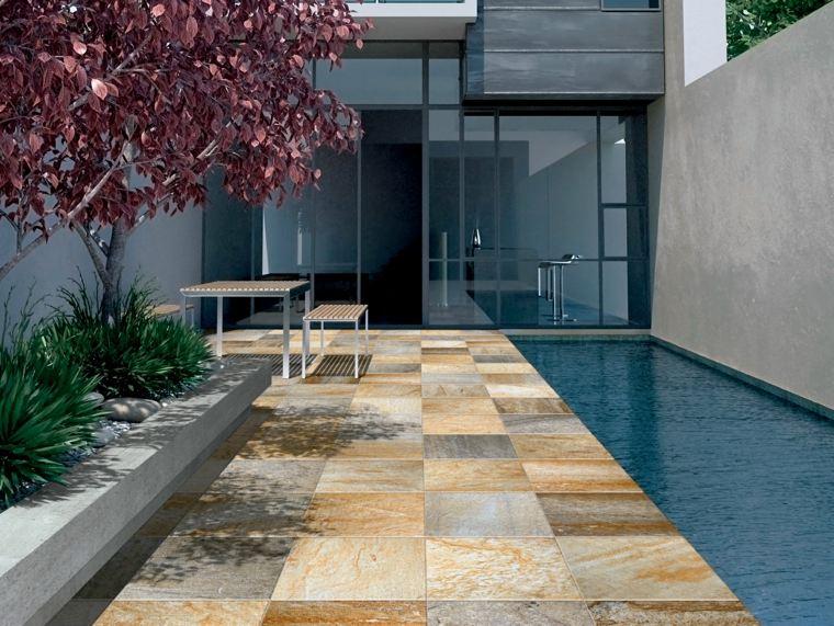 Pavimentos exteriores c mo escoger el material correcto for Jardines en piedra natural
