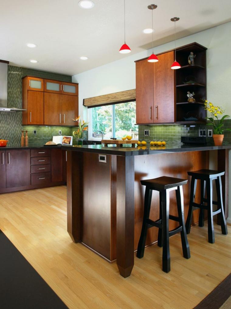 madera diferentes tonalidades increibles interiores plantas