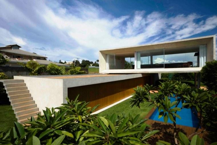 mansiones lujosas modernas