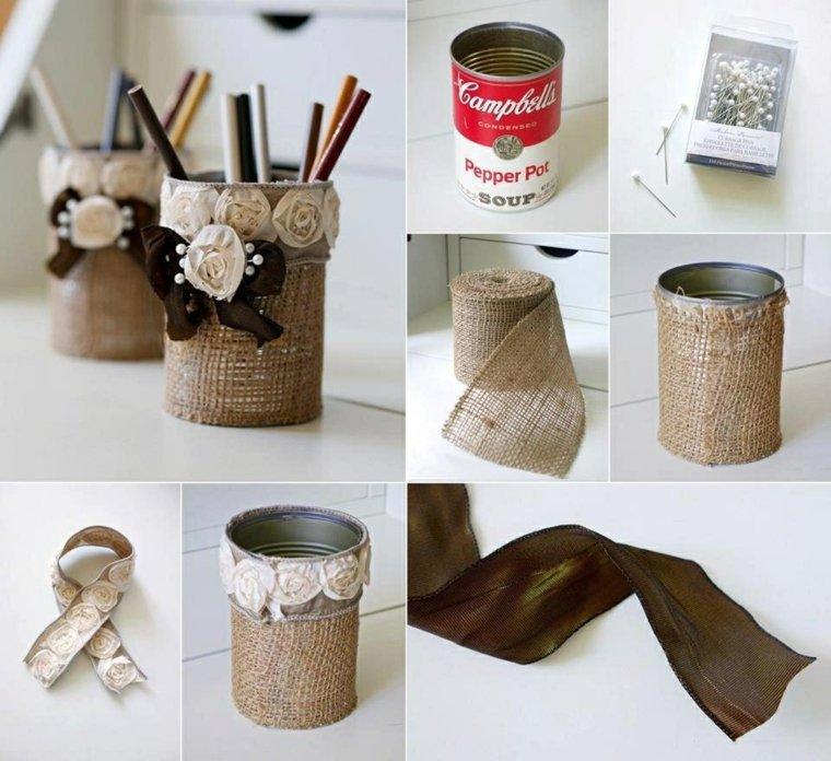 manualidades con madera casa