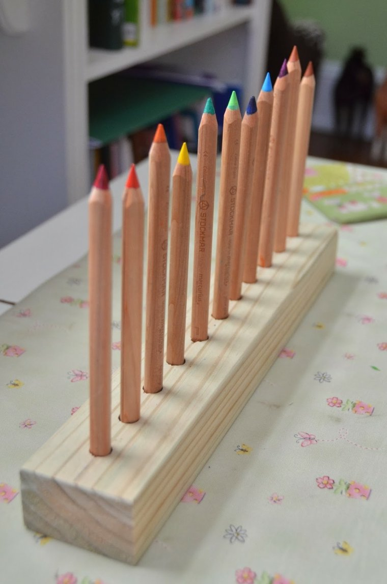 Lapiceros personalizados de madera para hacer en casa for Casas de madera para guardar herramientas