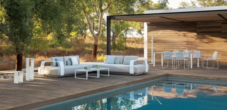 manutti muebles exterior jardin piscina ideas