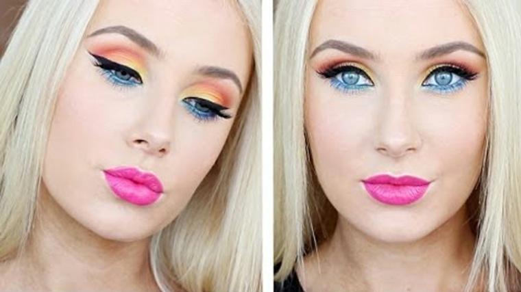 maquillajes de día moderno