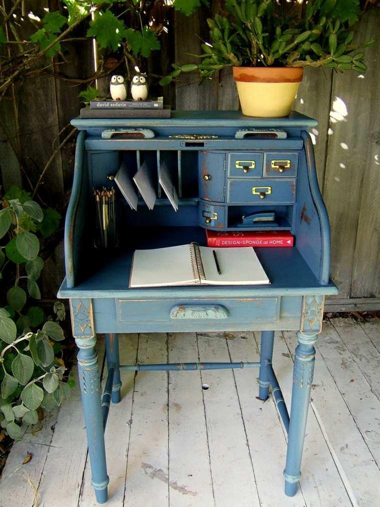 restaurar muebles antiguos mesilla