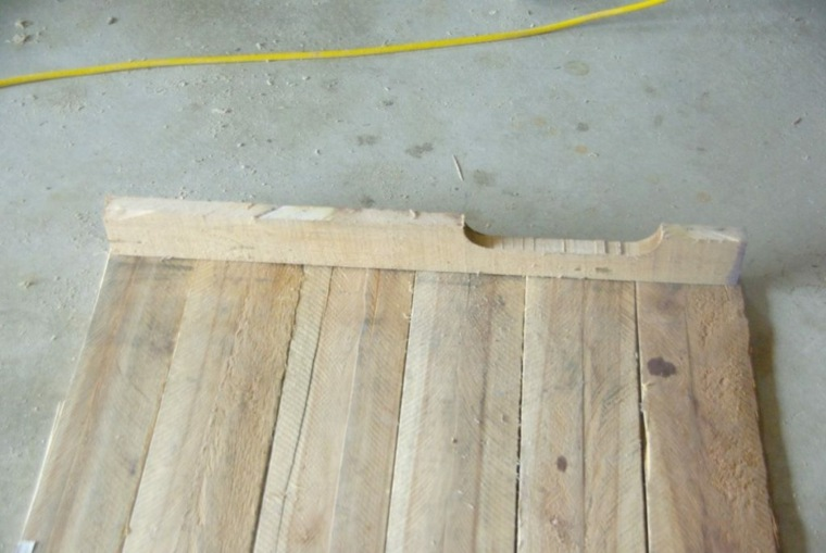 mesa de madera casa original
