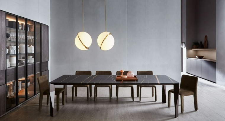 mesas de cocina-Patricia-Urquiola-diseno-DIAMOND-encimera-marmol