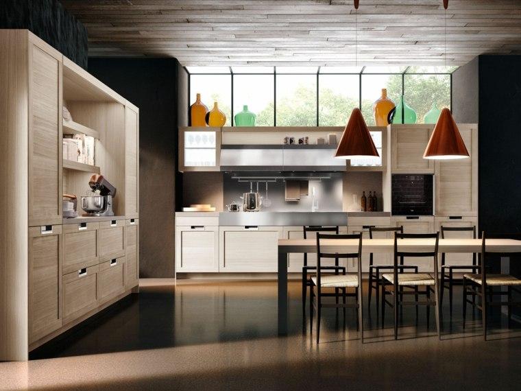 mesas de cocina Pietro Arosio madera solida ideas