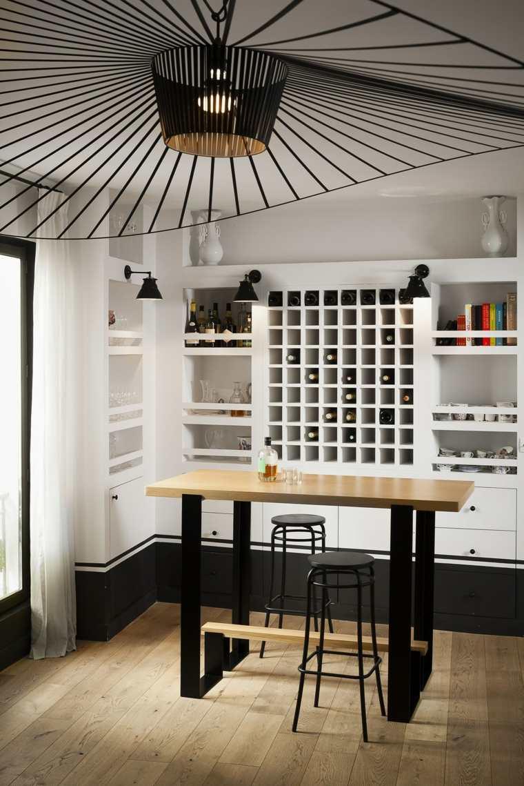 mesas de cocina-altas-diseno-madera-roble-Alex-de-Rouvray