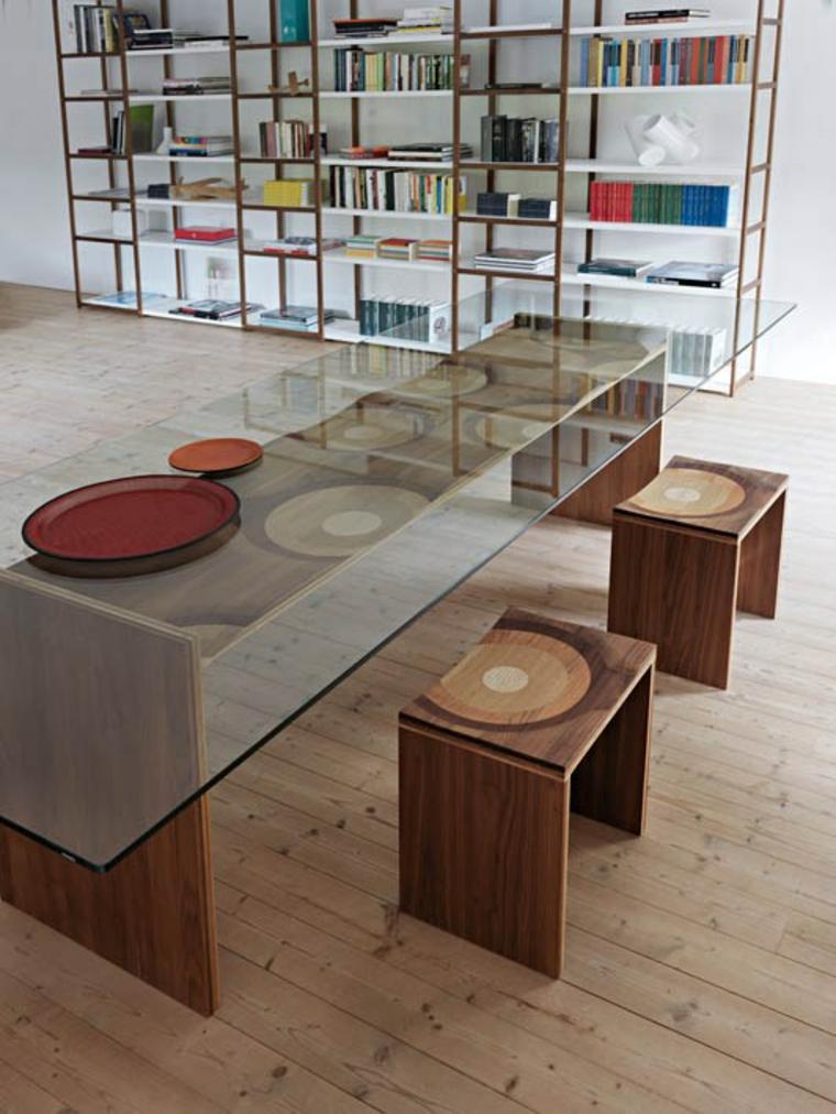 mesas de cocina-diseno-Toyo-Ito-elegante-cristal
