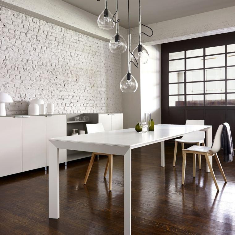 mesas de cocina-espacios-blanco-diseno-Ligne-Roset