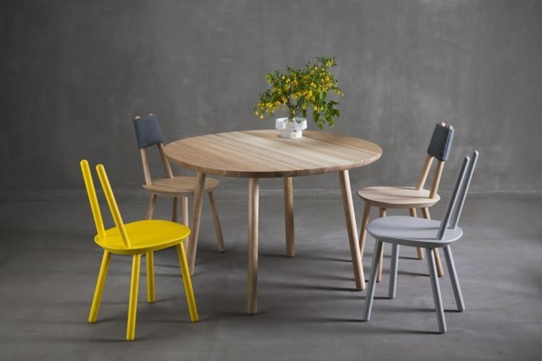 mesas de cocina-forma-modesta-limpia-construcción-simple-duradera-suficientemente-fuerte