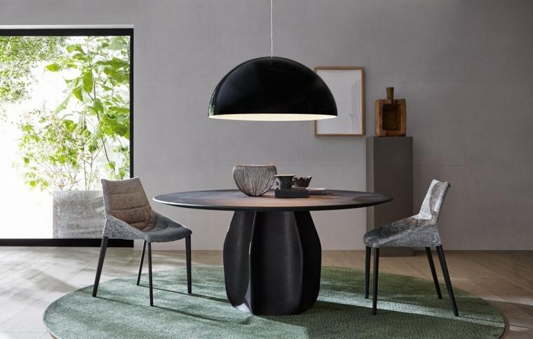 mesas de cocina-forma-redonda-tamano-grande-Patricia-Urquiola-diseno