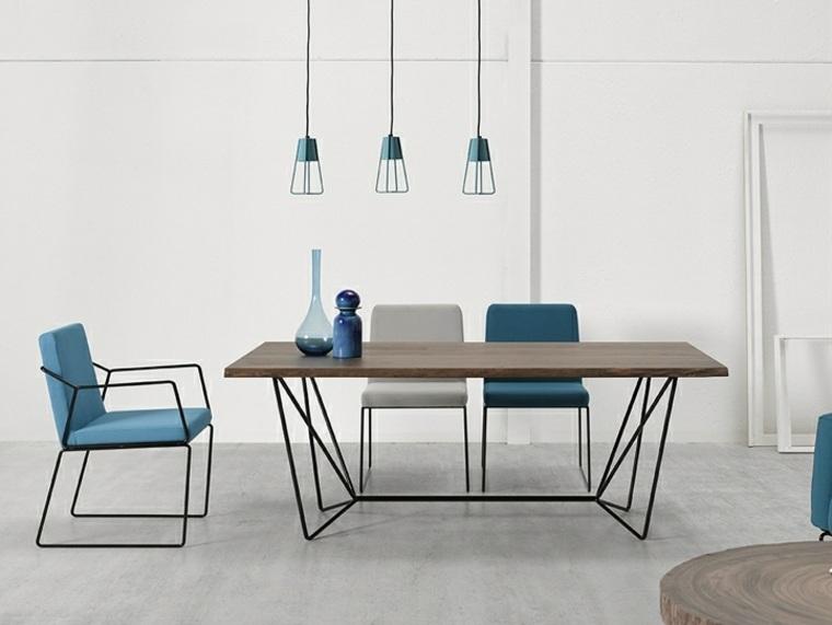 mesas de cocina-madera-metal-gemma-altinox