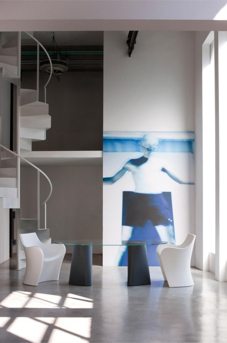 mesas de cocina-ovaladas-diseno-Busetti-Garuti-Redaelli