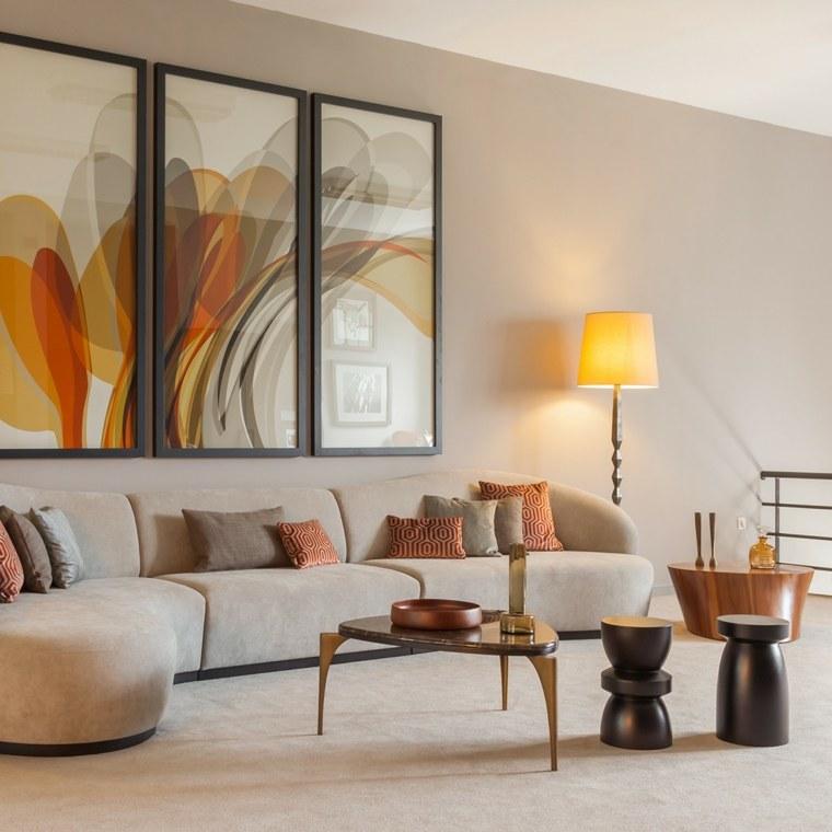 Mesas auxiliares sal n para la decoraci n de vuestros interiores - Mesita auxiliar sofa ...
