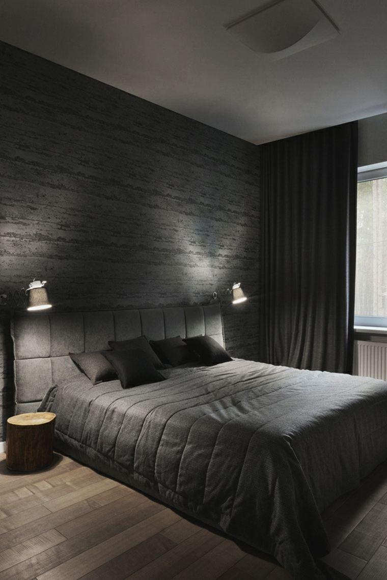 moderna negro colores estilos conceptos paredes