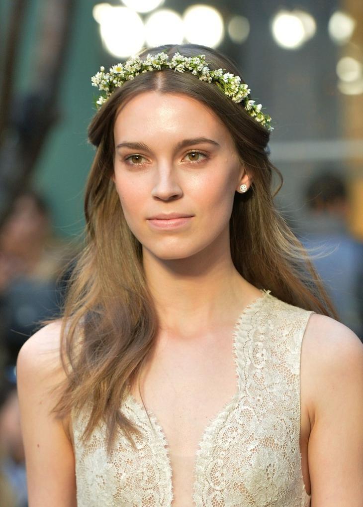 monique lhullier bridal estilo pasarela peinado opciones ideas