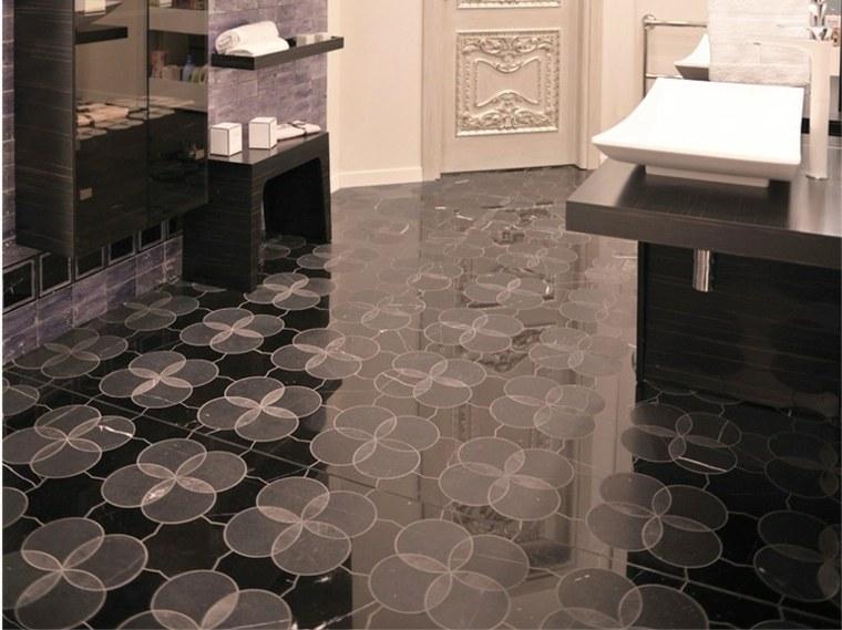 mosaico marmol suelo bano Lithos Mosaico Italia ideas