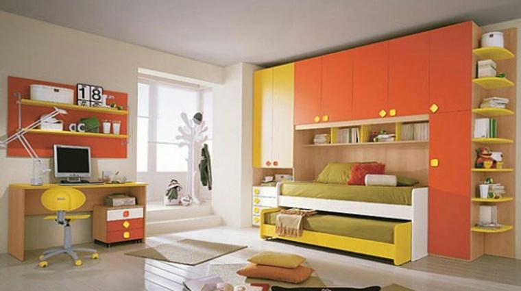 muebles de dormitorios juveniles decorar interior