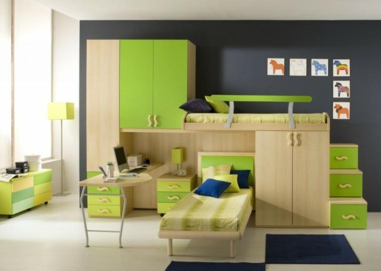 muebles de dormitorios juveniles modernos decorar interior