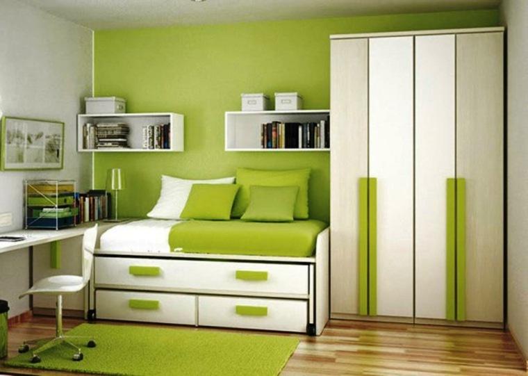 muebles de dormitorios juveniles modernos decorar