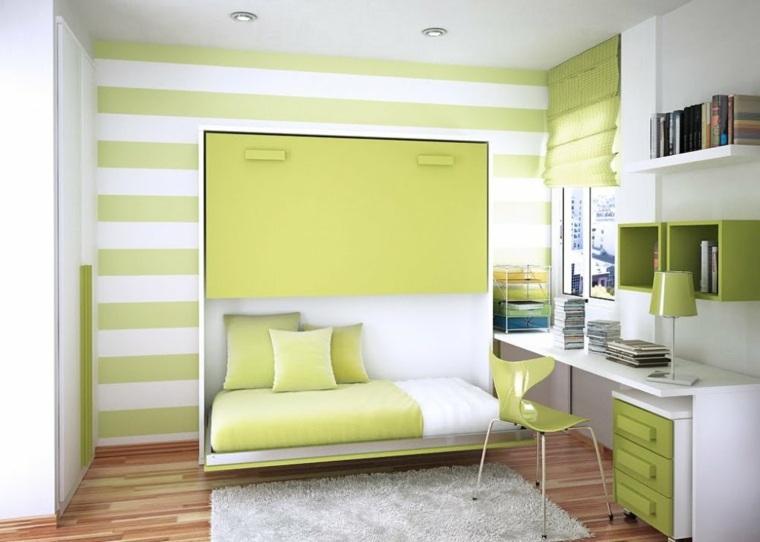 unos muebles para los dormitorios de vuestros hijos de colores que llenan los interiores de luz