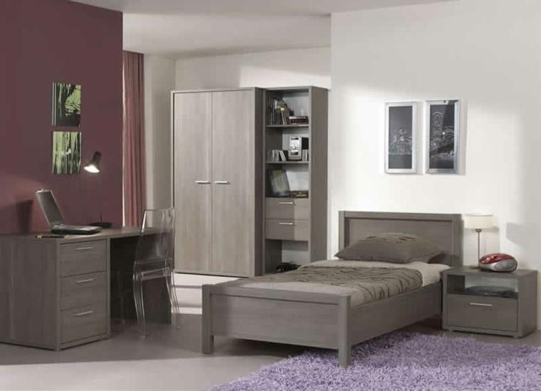 Muebles de dormitorios juveniles e infantiles para decorar for Formas muebles juveniles