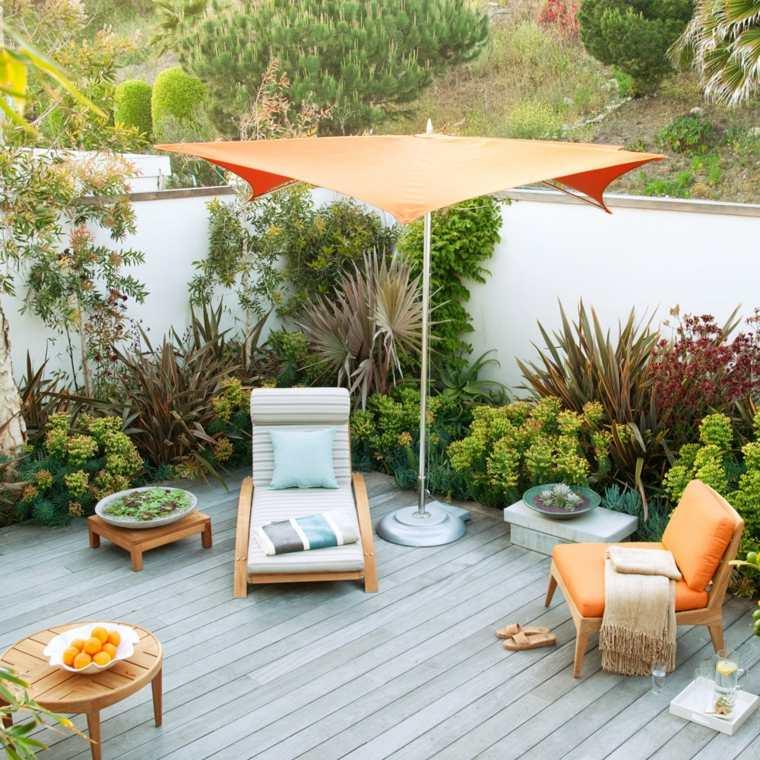 muebles de jardín diseno moderno plantas muebles ideas
