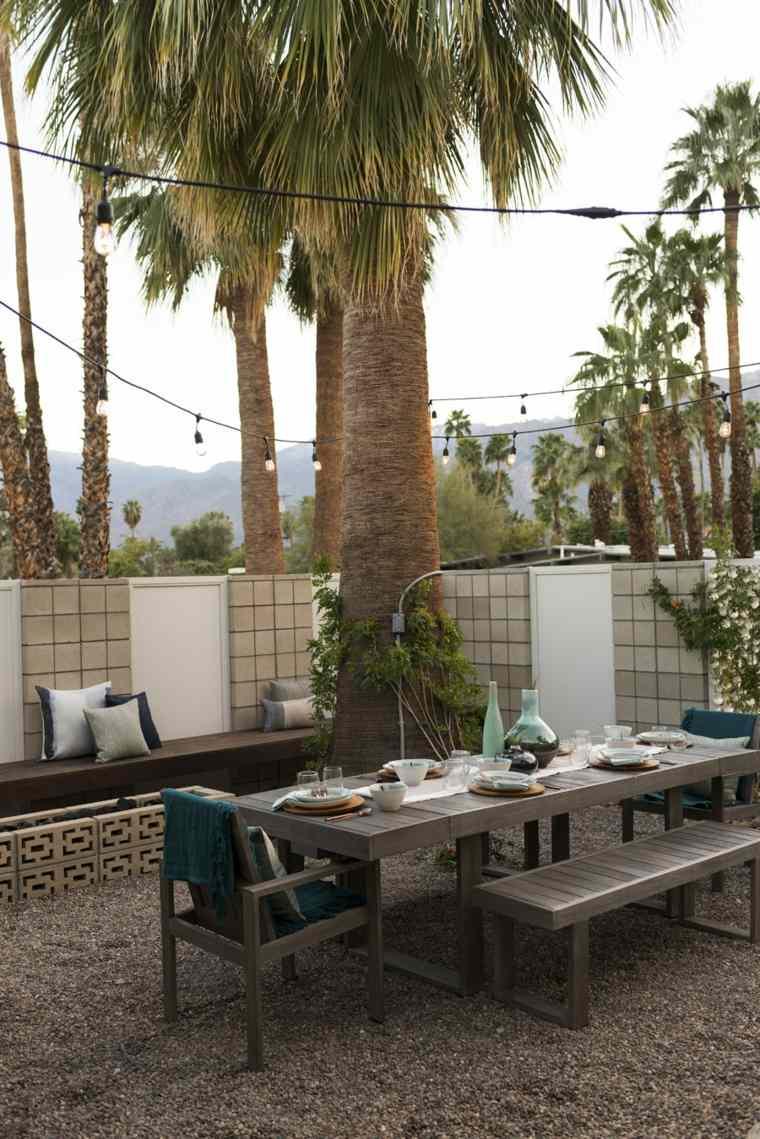muebles de jardin diseno moderno suelo ideas