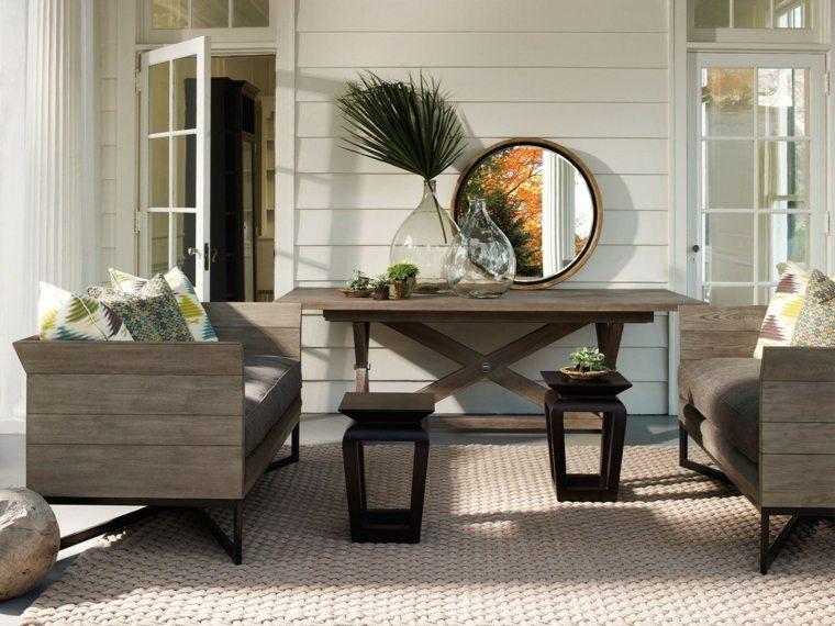 muebles de salon rusticos modernos