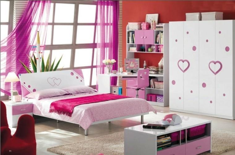 Muebles de dormitorios juveniles e infantiles para decorar - Dormitorios juveniles chicas ...