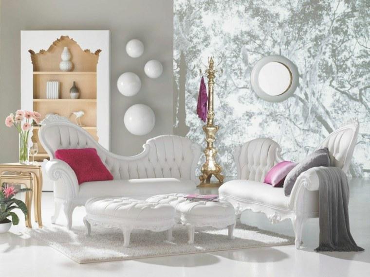 Muebles originales y modernos de estilo barroco para el - Muebles salon originales ...