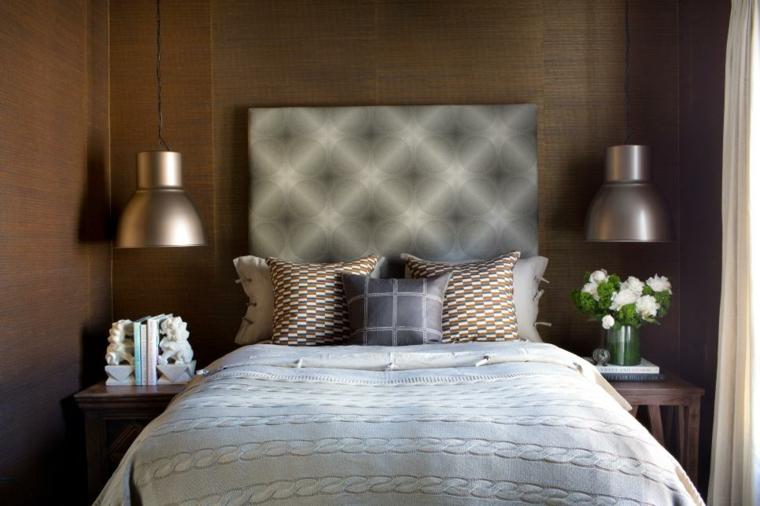 neutral contenporanea madera salas ideas muebles cabecero