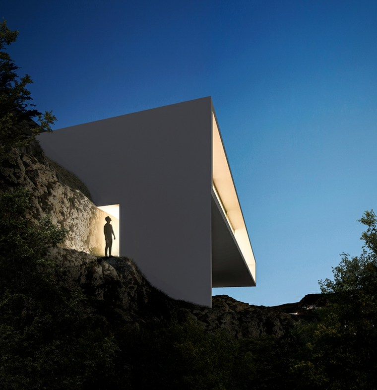 fachada diseño moderno