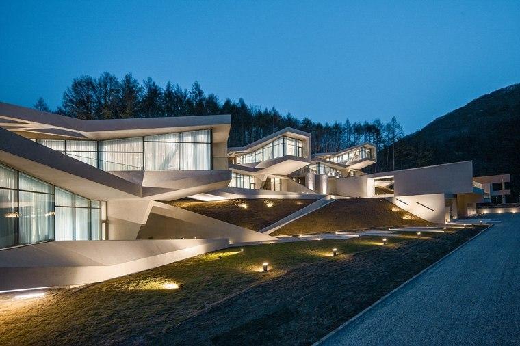 Arquitectura moderna en hongcheon corea del sur for Casa moderna corea