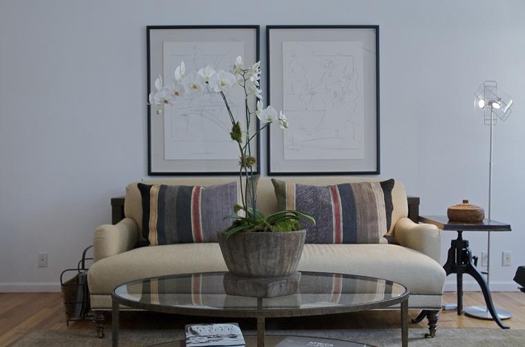 centro mesa orquídea