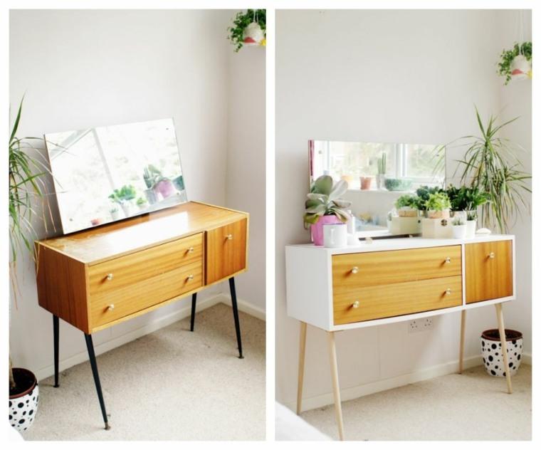 papel pintado en muebles decorar